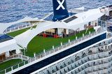 #Celebrity Cruises # lawn at sea