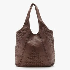 detailed soft leather bag