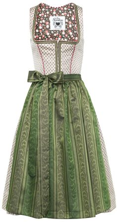 :: Crafty :: Sew :: Clothing 3 :: Dirndl Reserl dunkelgrün- beige 36