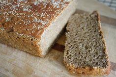 No-Knead Soaked Whole Grain Bread - vintage kids|modern world