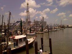 Galveston/Fishing Docks  With my Husband  July 4th, 2012
