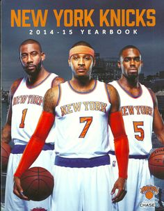 efe819c47536 2014-15 New York Knicks  Yearbook New Carmelo Anthony Amare Stoudemire Rare  from  32.99