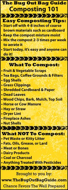 Turn your trash into rich soil for your garden - a great step toward making your home more self-sufficient!