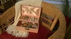 Mom's Jewelry Box, and what's inside it..