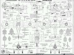 """""""How to produce your own crisis fighter' KB CAC Boomerang request thread of 1000 Australian Defence Force, Royal Australian Air Force, World War Two, Line Drawing, Wwii, Planes, Aviation, Aircraft, Tech"""
