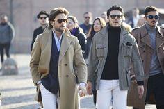 Как выглядят мужчины на выставке Pitti Uomo: день первый