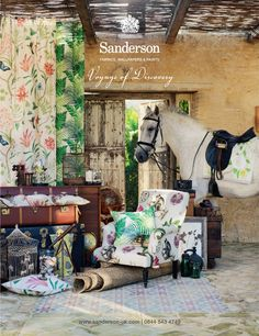 Voyages of Discovery by Sanderson 2014 - Stylist: Alyce Taylor - Photographer: Mel Yates