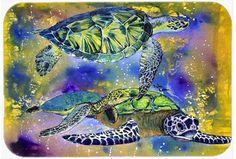 Turtle Kitchen/Bath Mat