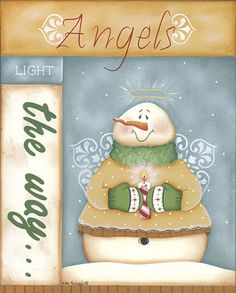 angels (snow angels) light the way Snowman Clipart, Christmas Clipart, Christmas Signs, Christmas Printables, Christmas Snowman, Christmas Projects, Christmas Time, Christmas Ornaments, Illustration Noel