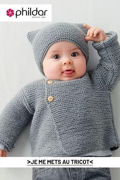 Layette Pattern, Baby Booties Knitting Pattern, Baby Boy Knitting, Baby Knitting Patterns, Baby Sewing, Baby Patterns, Cute Crochet, Crochet Baby, Baby Kimono