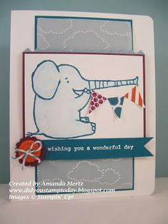by Amanda Mertz, Did You Stamp Today?: Henry Says Happy Birthday! Fab Friday 11