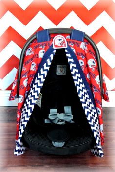 New England Patriots car seat canopy