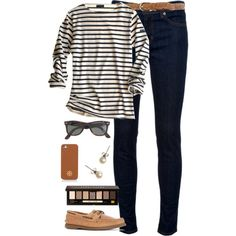 """""""neutrals in spring"""" by classically-preppy on Polyvore"""
