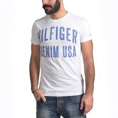 ΜΠΛΟΥΖΑΚΙ T-SHIRT ΑΝΔΡΙΚΟ TOMMY HILFIGER Polo, Mens Tops, T Shirt, Fashion, Supreme T Shirt, Moda, Polos, Tee, La Mode