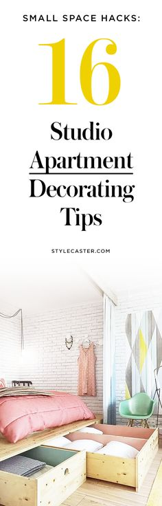 16 Studio Apartment Decorating Tips to Transform Your Small Space