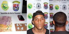 Polícia apreende drogas e traficante - http://projac.com.br/policial/policia-apreende-drogas-traficante.html