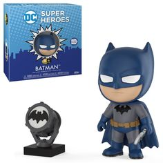 From DC Comics, Batman, as a new stylized 5 Star figure from Funko! figure stands 3 inches and comes in a window display box. Check out the other DC Comics figures from Funko! Dc Comics, Batman Comics, Madrid Barcelona, Chucky, Fate Stay Night, Power Rangers, Mug Game Of Thrones, Harley Quinn, Figurine Batman