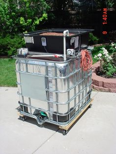 how to set up aquaponics with an ibc tote - Google Search
