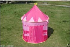 Princess Child Tent 50 Balls Kids Game House palace hide popout GIRL EASTER GIFT