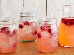 5-Star Raspberry Lemonade... Cool off with a glass of Ree's three-ingredient lemonade, studded with bright whole raspberries