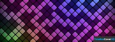 Colourful Mosaic Pattern Facebook Cover Timeline Banner For Fb Facebook Cover