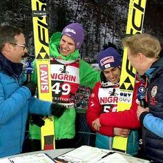 Ski Jumping, Jumpers, Skiing, Germany, Sky, Sports, Ski, Heaven, Hs Sports