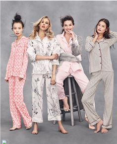 Bella Brocade-Print Pajama Set, White/Pink by Cosabella at Neiman Marcus.