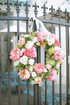 Oh-so-gorg peony wreath: http://www.stylemepretty.com/living/2015/08/05/diy-summer-floral-wreath/