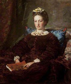 Effie retratada por su esposo Millais, ya en su madurez