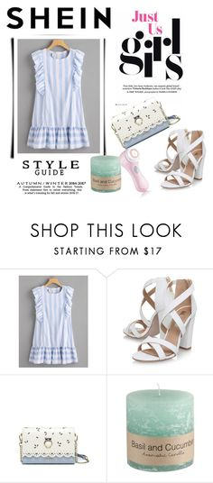 """""""shein"""" by bellamonica ❤ liked on Polyvore featuring Miss KG and Clarisonic"""