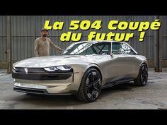 Peugeot e-Legend Concept : la 504 Coupé du futur ? - YouTube