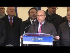 """Politique - Cazeneuve à Créteil: """"la lutte contre le racisme et l'antisémitisme, cause nationale"""" - http://pouvoirpolitique.com/cazeneuve-a-creteil-la-lutte-contre-le-racisme-et-lantisemitisme-cause-nationale/"""