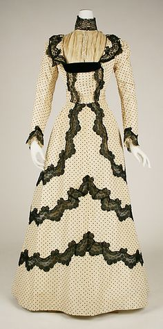 Afternoon Dress  -  1897-1898