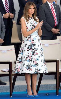 Cómo Melania Trump diseña su imagen a través de la moda: vestidos, zapatos  y looks de una primera dama. melania_trump_17_07_14_1a