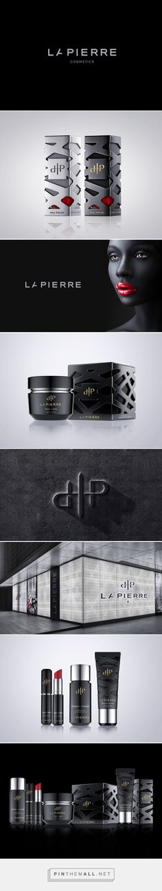 Gorgeous LaPierre Cosmetics - logo and packaging on Behance by Reynolds and Reyner Kiev, Ukraine. Nail polish brand from New Orleans, the USA LaPierre Cosmetics company got its name after J.M. LaPierre, who was the founder's mother.