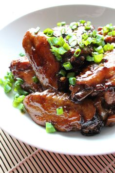 Sugar Braised Chicken Wings - One of the most popular Chinese food recipes, delicious and easy to make. From Spice the Plate