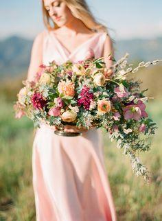 Photography Inspiration: Soft, Rustic Romanc Shoot by Elisa B Photography on Bridal Musings