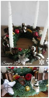 Wianki adwentowe by Sempre La Perfezione cz. Advent, Christmas Wreaths, Holiday Decor, Home Decor, Decoration Home, Room Decor, Home Interior Design, Home Decoration, Interior Design