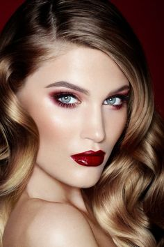 Red lips vs. Red eyes