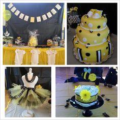 Bumblebee Baby Shower #bee #babyshower