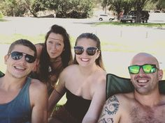 「 Today I was given a selfie stick!!!' Looooooooors Jesus! The awesome foursome ❤️ #bestfriends #family #love #picstitch #picoftheday #insta… 」