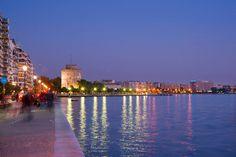 Θεσσαλονίκη Macedonia, Nymph, New York Skyline, The Past, Travel, Nymphs, Viajes, Trips, Fruit Salad