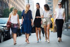 New York Fashion Week Spring 2014 Street Style, Day 8 New York Fashion Week Street Style, Street Style Women, Elle Mexico, New Yorker Mode, Bohemian Mode, Classy Casual, Womens Fashion For Work, Mode Inspiration, Fashion Outfits
