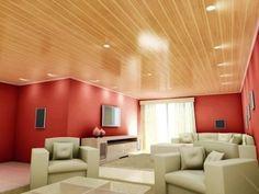 Home Design Decor, Kitchen Design Small, Pvc Ceiling Design, Pvc Ceiling, House Styles, Decor Design, Ceiling Design Living Room, New Homes, Living Decor