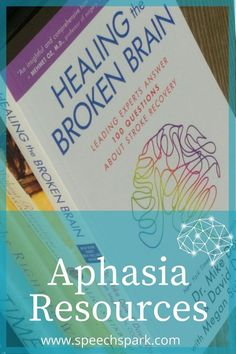 Aphasia resources near Green Bay, Wisconsin Speech Language Therapy, Speech Therapy Activities, Speech Language Pathology, Speech And Language, Aphasia Therapy, Art Therapy, Stroke Therapy, Therapy Ideas, Green Bay