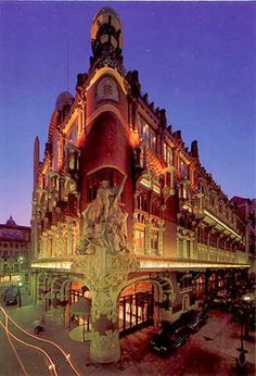 design-dautore.com: The Palau de la Música Catalana Barcelona
