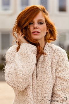 I've created this blog to show my love and admiration for redheads and freckles (admiration not a...