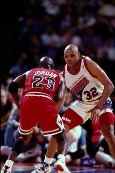 Cuando Michael Jordan y Charles Barkley compartían focos