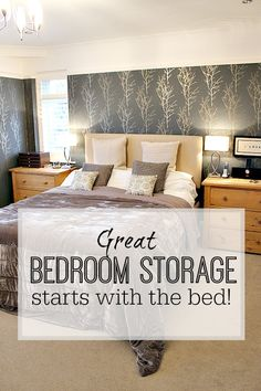 Why you should look at storage / ottoman beds next time you buy a bed - fantastic storage and perfect for getting more organised. Living Room Storage, Bed Storage, Bedroom Storage, Storage Ideas, Kids Bedroom Organization, Home Organisation, Bed Next, Bedroom Layouts, Bedroom Ideas