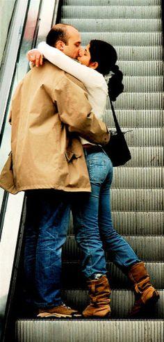 Riding the relationship escalator